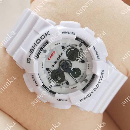 Надежные наручные спортивные часы Casio GA-120 White/Gray 642