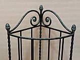 Зонтница угловая кованая - 043-НK, фото 2