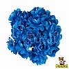 Камелия цветок синий на стебельке 1.5 см диаметр 10 шт/уп