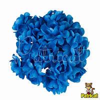 Камелия цветок синий на стебельке 1.5 см диаметр 10 шт/уп, фото 1