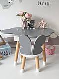 Детский стол облако с пеналом и 1 стул бабочка, фото 3
