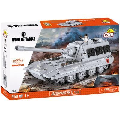 Конструктор Cobi World Of Tanks Jagdpanzer E-100 Krokodil 950 деталей