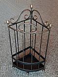 Зонтница угловая кованая - 043-НK, фото 10