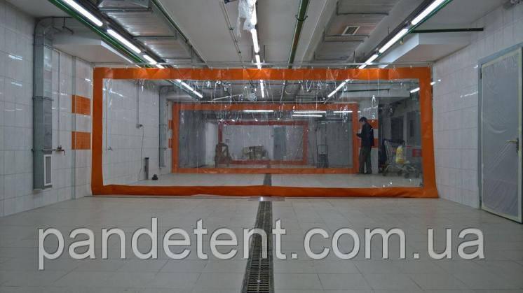 Влагостойкие шторы для автомойки, промышленные шторы ПВХ( Япония )., фото 2
