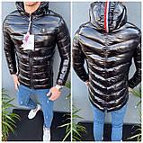 Мужская зимняя куртка Moncler, чоловічий зимовий пуховик Moncler, зимний пуховик монклер зимова куртка монклер, фото 6