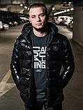 Мужская зимняя куртка Moncler, чоловічий зимовий пуховик Moncler, зимний пуховик монклер зимова куртка монклер, фото 2