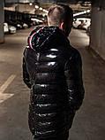 Мужская зимняя куртка Moncler, чоловічий зимовий пуховик Moncler, зимний пуховик монклер зимова куртка монклер, фото 3