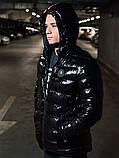 Мужская зимняя куртка Moncler, чоловічий зимовий пуховик Moncler, зимний пуховик монклер зимова куртка монклер, фото 5