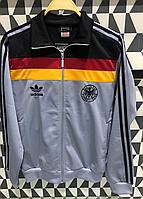 Мужской спортивный костюм серый Адидас Винтаж 80-е Австрия
