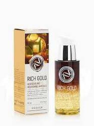 Сыворотка для лица с ионами золота Enough Rich Gold Intensive Pro Nourishing Ampoule, 30 мл