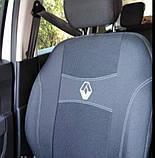 Авточехлы Renault Logan MCV 2009-2013,7 мест (цельная и деленная)спинк, фото 2