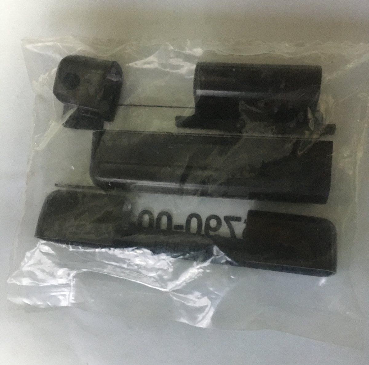 Накладки на оконные петли фурнитура G-U артикул K-16790-00-0-5 цвет коричневый