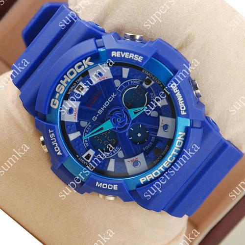 Стильные наручные спортивные часы Casio GA-200 Blue 645