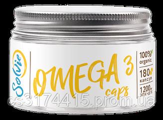 Омега-3 с витамином Е Solvie (180 капсул)