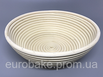 Корзины для расстойки теста круглой формы на 1,0 кг хлеба
