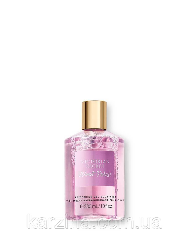Освежающий гель для душа ваниль Victoria's Secret Refreshing Gel Body Wash Velvet Petals 300мл.