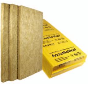 AcousticWool Sonet P 100мм-Изоляция воздушного шума,кв.м