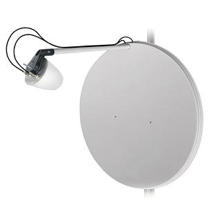 Комплект антенн 3G/4G LTE MIMO 2x30 dBi со спутниковым отражателем d = 0.8 м, фото 2