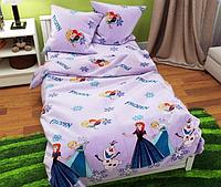 """Семейный детский комплект постельного белья """"Холодное сердце"""""""