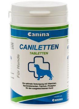 Витамины для собак Canina (Канина) Caniletten 500табл активный кальций беременным и лактирующим сукам
