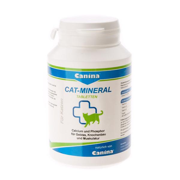 Минеральный комплекс для кошек Canina «Cat-Mineral» 150 таблеток, 75 г