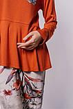 Женская пижама из вискозы с баской, фото 3