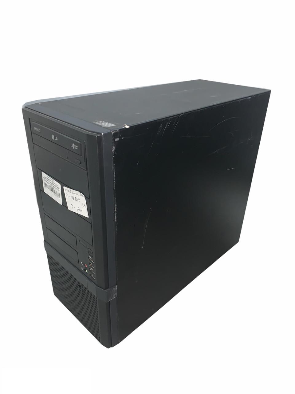 Системный блок -MT-Intel Core i7-4820K-3,70GHz-16Gb-DDR3-HDD-500Gb-DVD-R-Gigabyte PCI-Ex GeForce GT 740 (2Gb)-