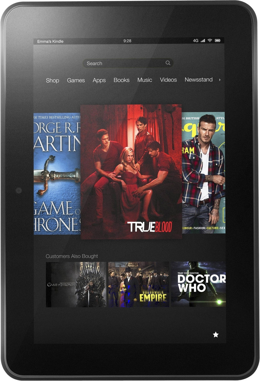 "Планшет  Amazon Kindle Fire SV98LN 7  Quad-Core 1.3 Ггц 1Gb-8Gb-7"" 1024 x 600 Б/У"