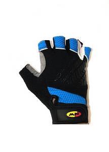 Велоперчатки NorthWave Dumper MTB Short gloves синий / черный (С8912200708)