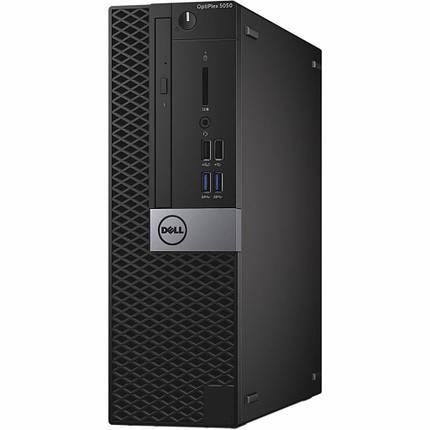 Системный блок Dell Optiplex 5050-SFF-Intel Core-i3-6100-3,70GHz-8Gb-DDR4-SSD-128Gb-DVD-R- Б/У, фото 2