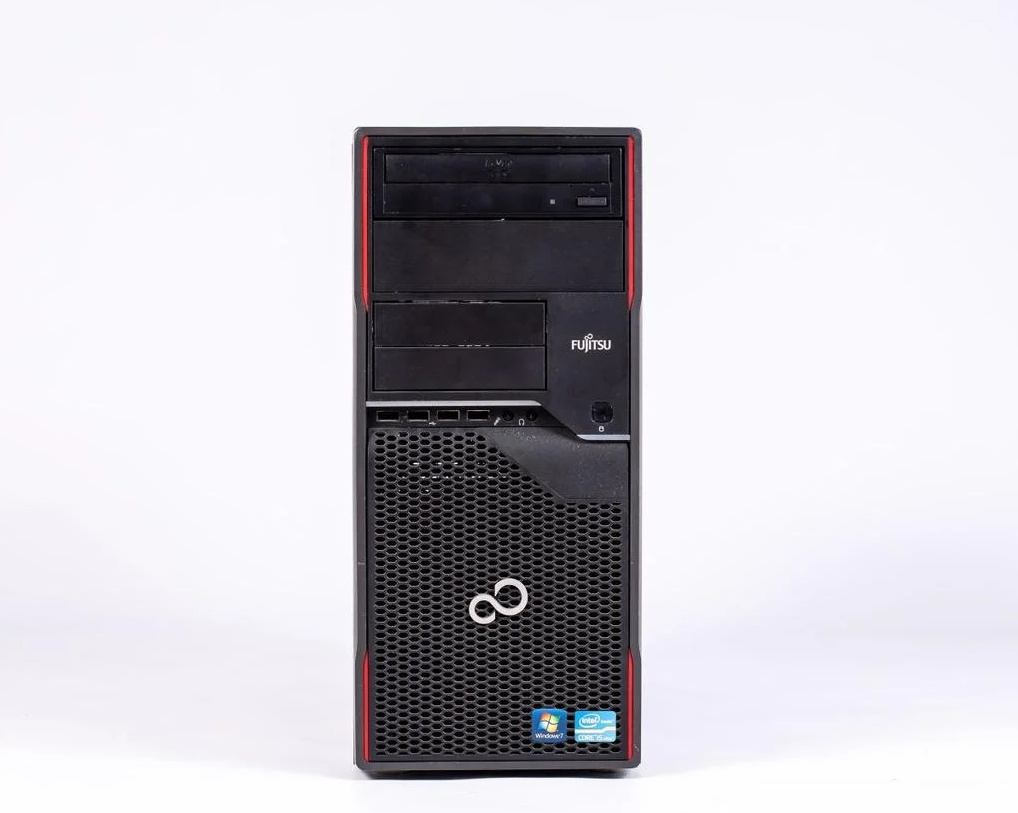 Системный блок Fujitsu CELSIUS W410 FT-Intel Core i5-2400-3,10GHz-4Gb-DDR3-HDD-320Gb-DVD-R- Б/У