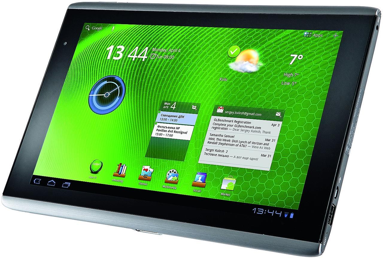 "Планшет Acer Iconia Tab A500-NVIDIA Tegra 2 (1 ГГц) 1GB-32GB 10.1"" 1280x800 Б/У"