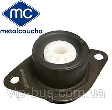 Подушка двигателя под КПП (левая, круглая) на Renault Trafic 1.9dCi (2001-2006) Metalcaucho (Испания) MC04451