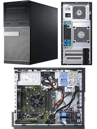 Системный блок Dell Optiplex 7010 Mini-Tower-Intel Core-i3-3240-3,40GHz-4Gb-DDR3-HDD-250Gb-DVD-R- Б/У, фото 2