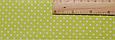 Сатин (хлопковая ткань) мелкая точка на салате (горох) (90*160), фото 2