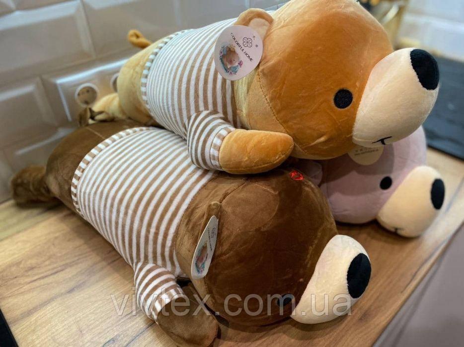 Плед детский + игрушка мишка и подушка 3в1 оптом