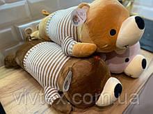 Плед дитячий + іграшка ведмедик і подушка 3в1 оптом