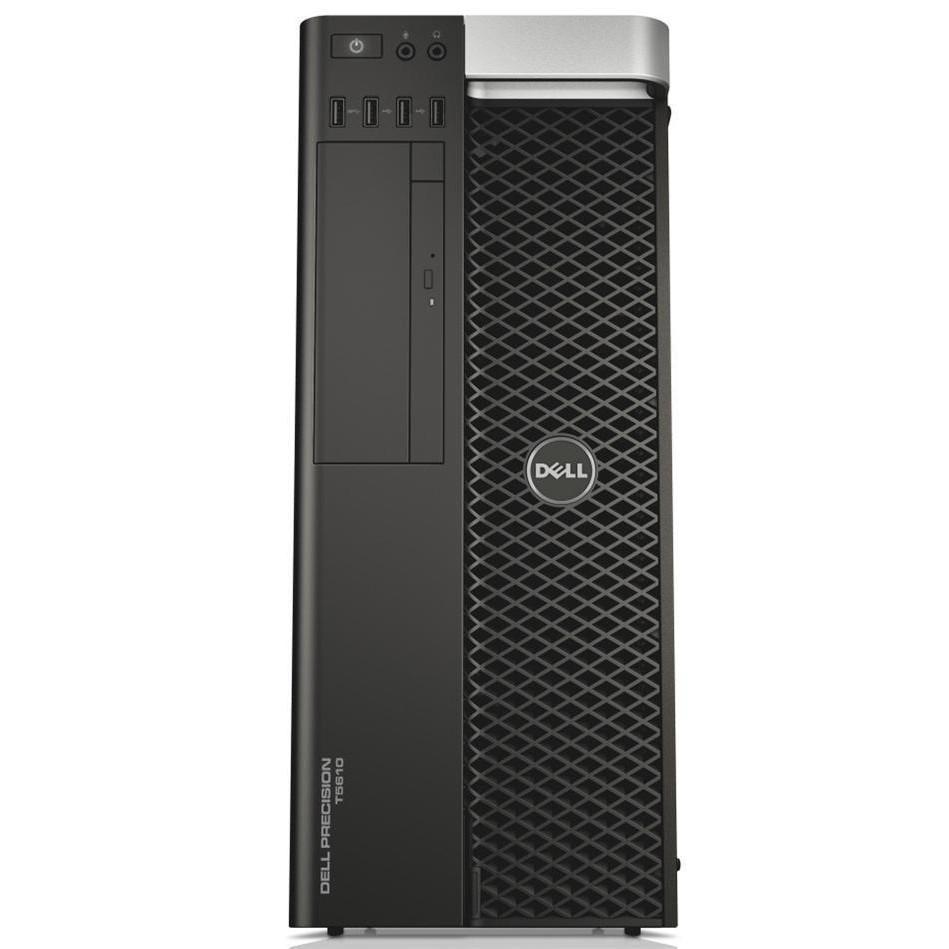 Системный блок Dell Precision T5610 -Intel Xeon E5-2609 v2-2.5GHz-16Gb-DDR3-HDD-1Tb+NVIDIA Quadro FX580