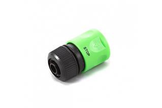 Конектор Presto-PS для шлангу 1/2-5/8 дюйма з аквастопом (4110)
