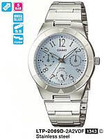 Женские часы CASIO LTP-2069D-2A2VEF оригинал