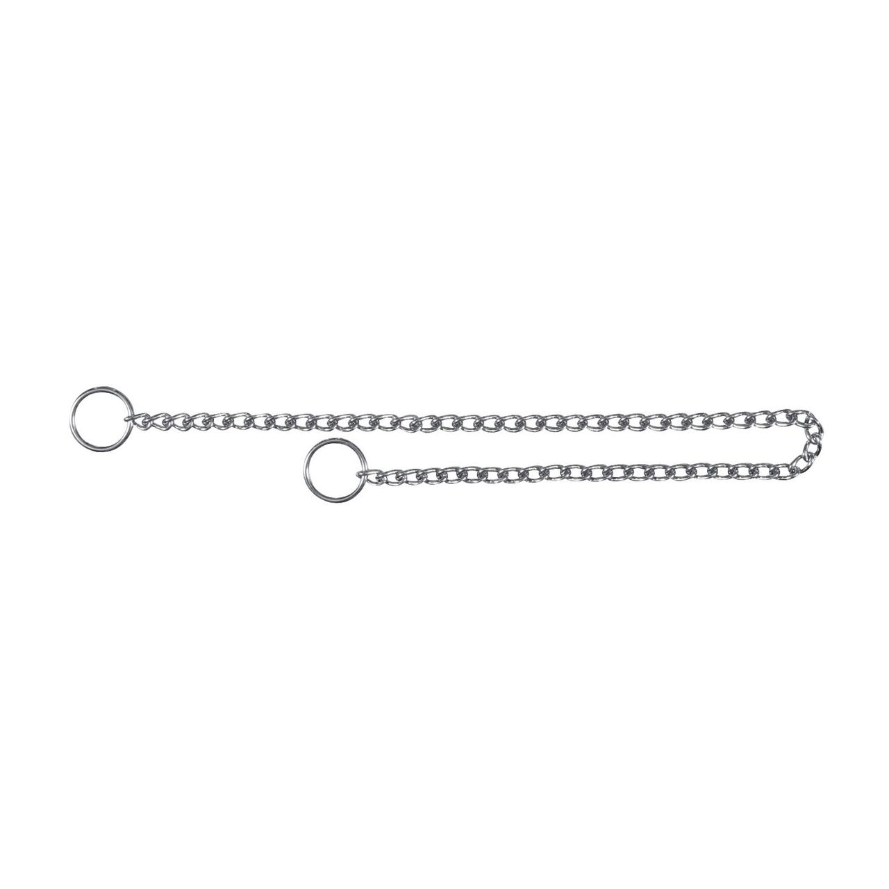 Цепь-удавка Trixie хромированная 55 см / 3 мм