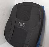 Авточехлы Nika на Audi A6(C5) 1997-2004 раздельный ,Ауди А6(С5) 1997-2004 года, фото 3
