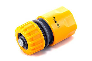 Конектор Presto-PS для шлангу 1/2-5/8 дюйма з аквастопом (5810)