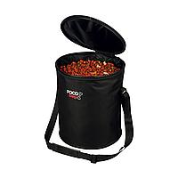 Сумка-контейнер для корма Trixie из нейлона 44 см / d=40 см (чёрная)