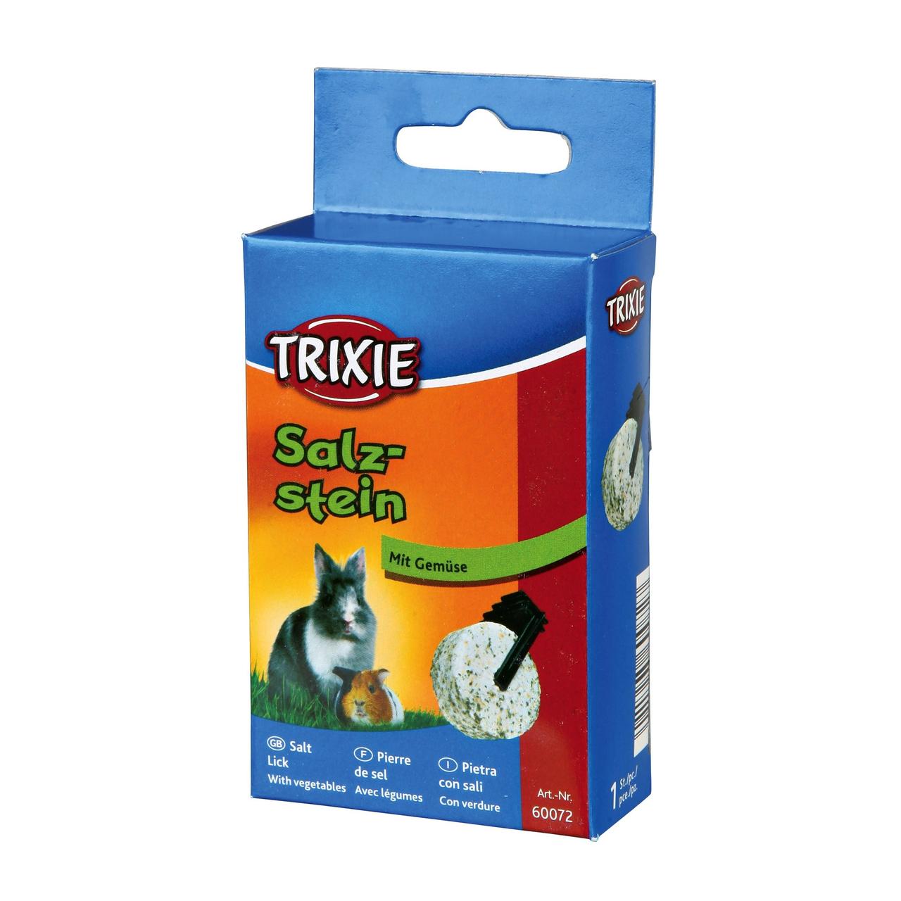 Минеральная соль для грызунов Trixie с травами 95 г