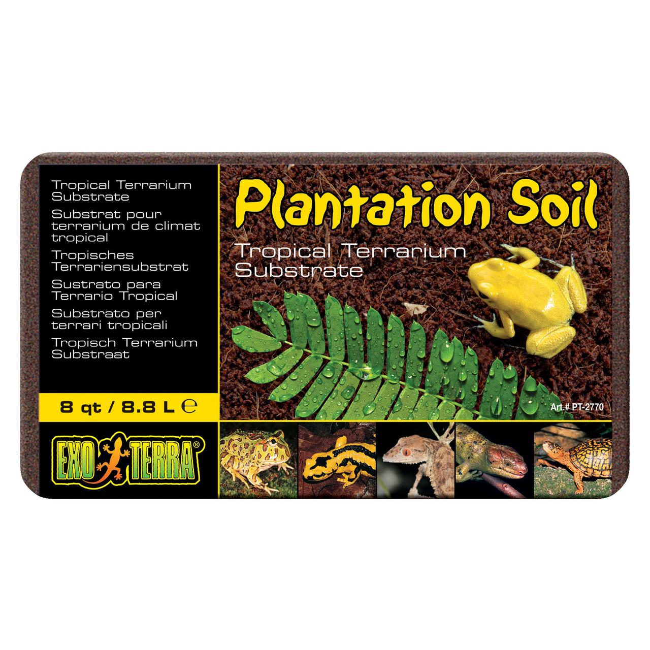 Наполнитель для террариума Exo Terra «Plantation Soil» 8,8 л (кокосовый субстрат)