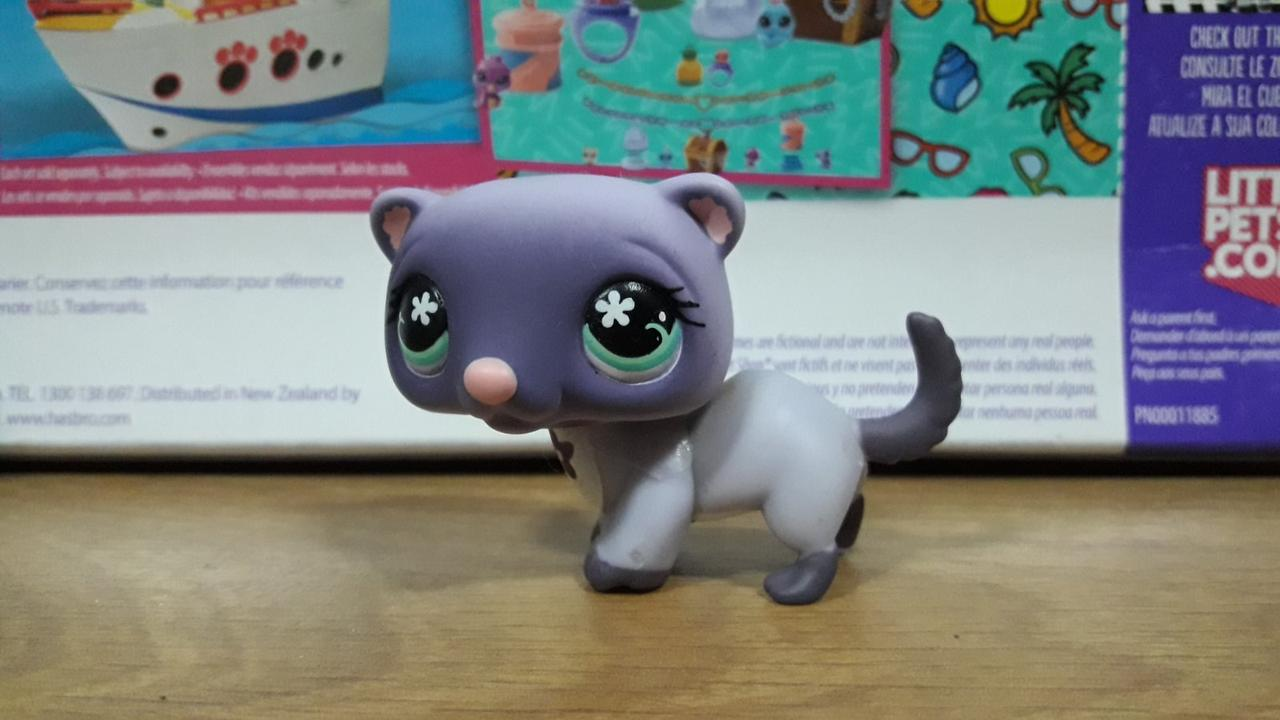 Lps littlest pet shop стоячки - лпс хорек #482 Hasbro старая коллекция