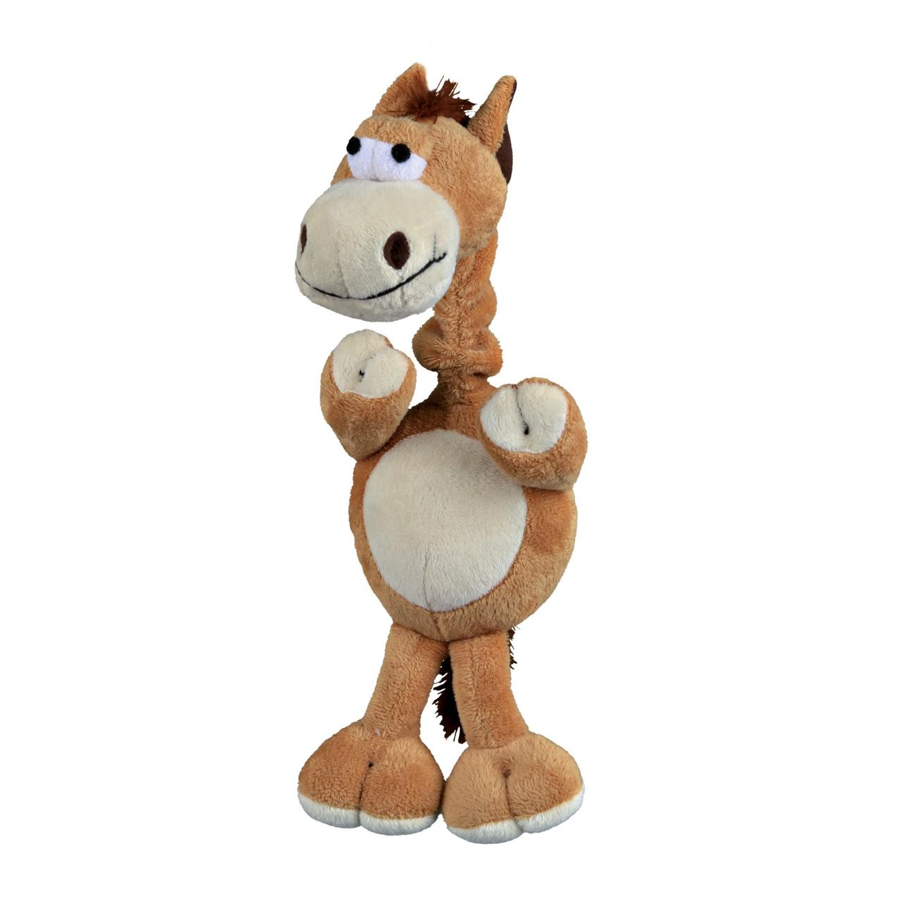 Игрушка для собак Trixie Лошадь с пищалкой 30 см (плюш)