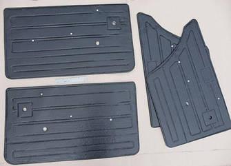 Обивка двери ВАЗ 2107 кожа (пластиковая основа) (к-кт 4 шт) ДЭЛ