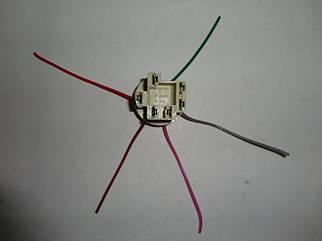 Разъем (колодка с проводами) контактной группы замка зажигания ВАЗ (22310)
